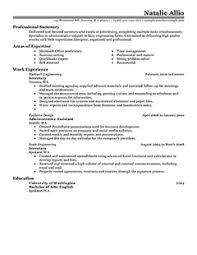 best secretary resume example  livecareer more secretary resume examples