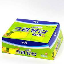 <b>Перчатки одноразовые полиэтиленовые</b>, CLEAN WRAP 400 шт ...