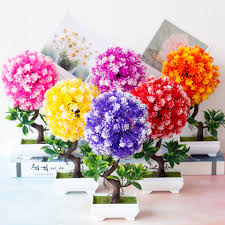 Lifelike Fake Plants Tropical Potted Plants Creative Ornaments ...