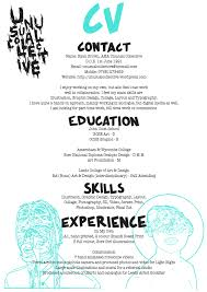 cv unusual collective cv
