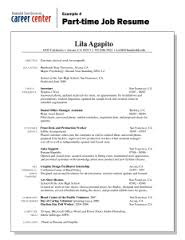 sample resume for first part time job   thugliferesume com    sample resume for first part time job example   time job resume lila agapito california arcata