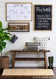rustic style living room clever: nice living room decor rustic farmhouse style command center with wood bench chalk