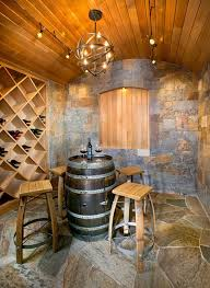 19 interesting ways of using wine barrels in home dcor wine barrel tablewood arched table top wine cellar furniture