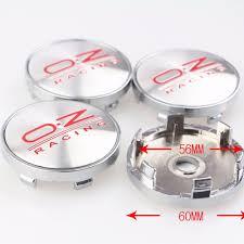 <b>4PCS</b>/LOT 60mm <b>Car Wheel</b> Center Cap O.Z Racing Hub Cap ...