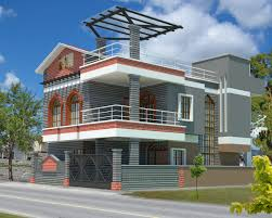 Western Home Decorating  D House Plan With The Implementation Of    Western Home Decorating  D House Plan With The Implementation Of D MAX Modern House Designs