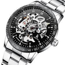 Fashion <b>IK</b> COLOURING 98226 <b>Automatic Mechanical</b> Watches ...