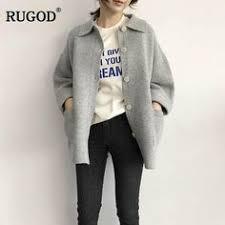 RUGOD <b>2018</b> New <b>Autumn</b> Winter <b>Cashmere Sweater</b> Cardigan ...