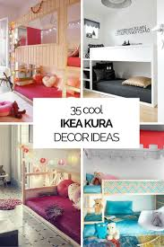 cheap kids bedroom ideas:  cool ikea kura beds ideas for your kids rooms digsdigs