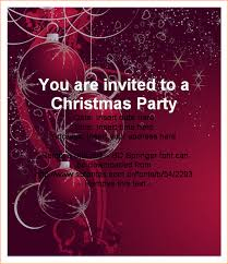 christmas party invitation template  outline templates party invitation christmas invitation close back to template
