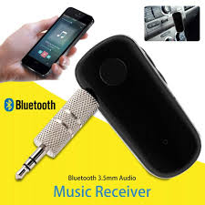 Mini Wireless <b>Bluetooth Car</b> Kit Hands free <b>3.5mm Jack</b> AUX Audio ...