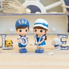 office decor accessories pc set home decoration accessories resin crafts cartoon people office