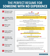 infographic   reasons this is an excellent resume   infographic   reasons this is an excellent resume for someone with no experience