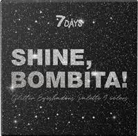 <b>Палетка</b> теней д/<b>век</b> 7DAYS SHINE, BOMBITA! с <b>глиттером</b> 9 ...