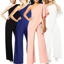 <b>Дамы Мода Сексуальная</b> Одноплечий Твердый цвет Широкий ...