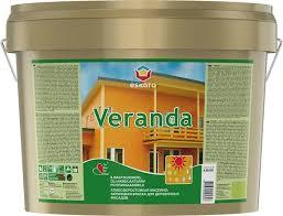 <b>Краска</b> для деревянных домов Eskaro Veranda <b>акрилово</b> ...