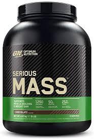 Optimum Nutrition <b>Serious Mass Protein</b> Powder <b>High</b> Calorie Mass ...