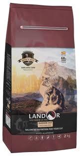 <b>Корм</b> для кошек <b>Landor</b> (2 кг) Indoor — купить по выгодной цене ...