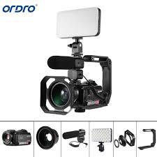 <b>Ordro AC5 4K</b> 12X Optical Zoom 24MP WiFi IPS Touch Screen ...