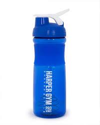 "<b>Шейкер Harper Gym</b> ""Shaker Bottle"", с венчиком, цвет: синий, 700 мл"