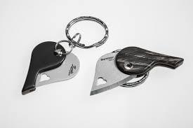 <b>Нож</b>-<b>брелок</b> складной сердце <b>LionSteel</b> LB CO - LionBeat Horn ...
