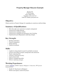 property manager resume sample job and resume template assistant property manager resume objective