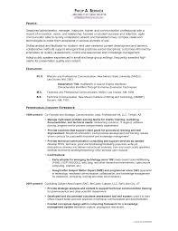 on resume communication on resume