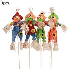 Standing Scarecrow Cute Autumn Garden Scarecrow Ornament for ...