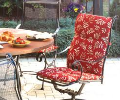 high outdoor chair cushions