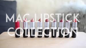 <b>MAC</b> Lipstick Collection | Mademoiselle - YouTube