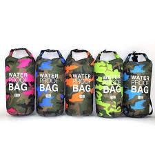 PVC Waterproof Dry Bag <b>5L 10L 20L</b> 30L Camo Outdoor Diving ...