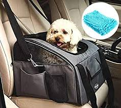 Amazon.com : PETTOM <b>Pet Car</b> Seat <b>Carrier</b> Airline Approved <b>Dog</b> ...
