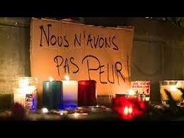 """Résultat de recherche d'images pour """"bougies place de la république"""""""