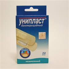 <b>Пластырь унипласт набор бактерицидный</b> незаметный N8 цена ...