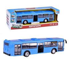Инерционная <b>машина PLAY SMART</b> Автопарк - <b>Автобус</b> - купить ...