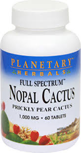<b>Full Spectrum</b> Nopal <b>Prickly Pear Cactus</b> 1000 mg 60 Tablets ...