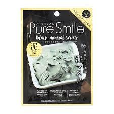 <b>Sun Smile Pure Smile</b> Essence Mask <b>Black</b> Mineral Series Mud ...