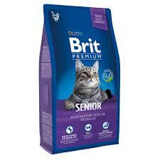 Купить со скидкой <b>Сухой корм Brit Premium</b> Senior для пожилых ...