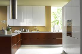 Laminate Kitchen Kitchen With White Walls And Laminate Cabinets Impressive