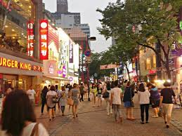 Image result for Myeongdong Market