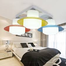 baby ceiling lights with 3 light colorful shade for bedroom baby bedroom ceiling lights