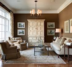 paint colors living room brown traditional living room by carolina design associates llc