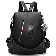 Women Nylon Backpack Purse waterproof Anti-theft ... - Amazon.com