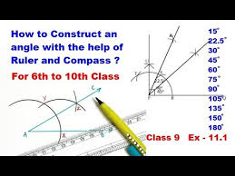 Constructing an <b>Angle</b> of <b>90</b> degrees - YouTube