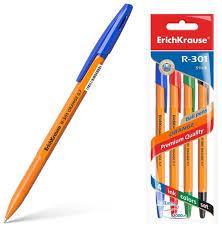 ErichKrause <b>Набор шариковых ручек</b> R-301 Orange Stick, 0.7 мм ...