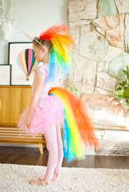 DIY <b>Rainbow Unicorn Costume</b> | Unicorn halloween costume, Diy ...