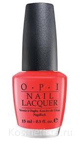 Отзывы на <b>Лак для ногтей OPI</b> Nail Lacquer / Косметиста