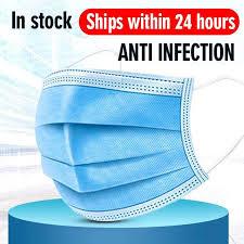 <b>Fast Delivery</b> 10-<b>500pcs</b> Masks disposable <b>protective</b> 3-layer Anti ...