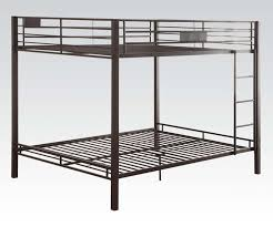 black red magnificent bunk beds