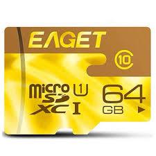 <b>Карта памяти</b> Eaget microSDHC Class 10 <b>64GB</b>