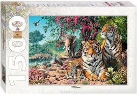 <b>Step Puzzle Пазл Тигры</b>, Товары Для Детей Москва